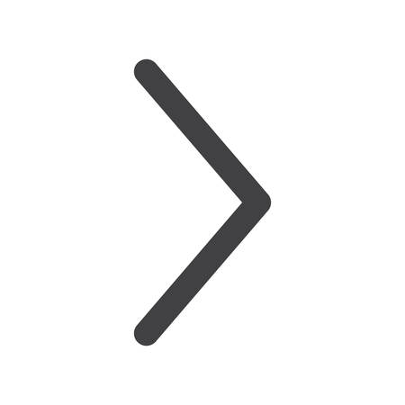 arrow right icon: Arrow right, modern flat icon