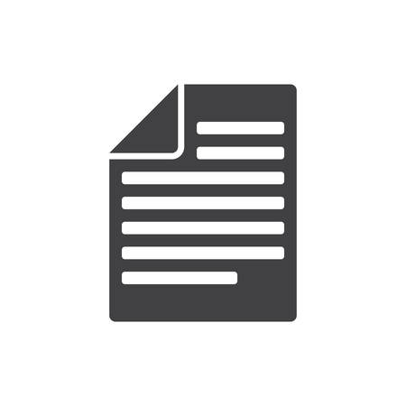 articles: Articles, modern flat icon Illustration