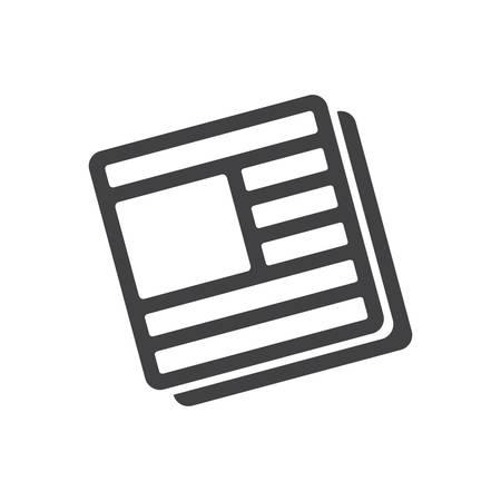 news icon: News icon (flat design)