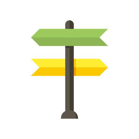 making: Decision making, modern flat icon
