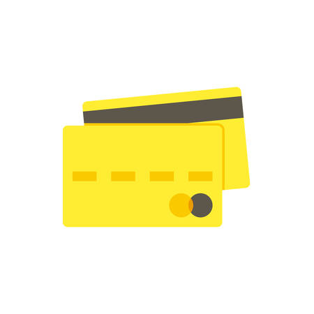 credit card icon: Credit card icon (flat design)