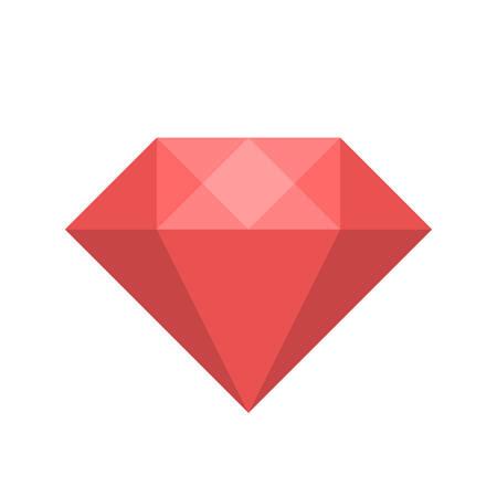 diamond clip art: Diamond icon (flat design)