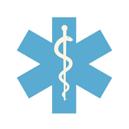 star of life: Star of Life, modern flat icon