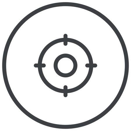 keywords: Target Keywords, search engine optimization modern icon Illustration