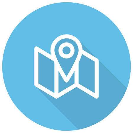 local business: Local SEO, Local search engine optimization, modern vector icon