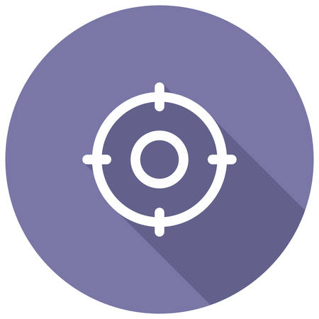 icons site search: Target Keywords, search engine optimization, modern vector icon