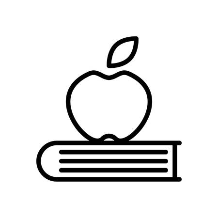 scalable: Knowledge fully scalable vector icon in outline style.