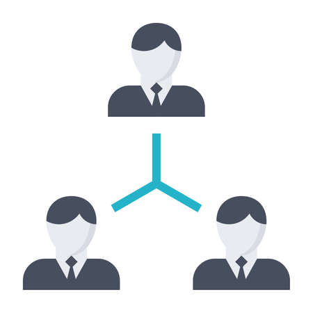 teamwork concept: Vector illustration with business people teamwork concept. Stock Photo