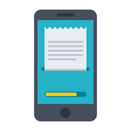 mobile payment: Concept for mobile payment and online banking Illustration