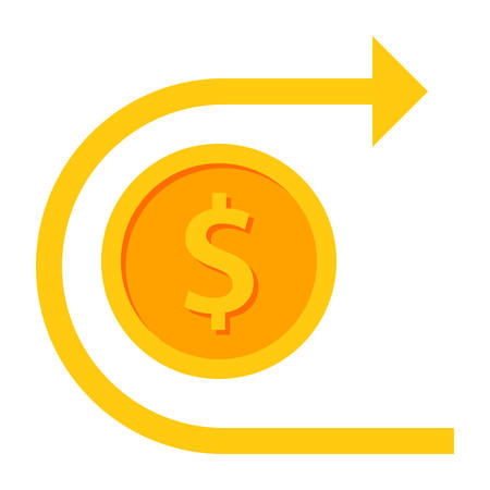 Chargeback and Refund Icon Illustration