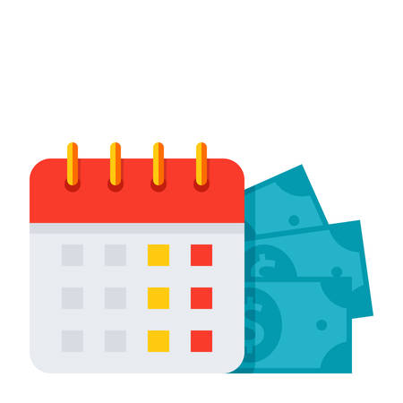 payday: Payment Date Icon Illustration