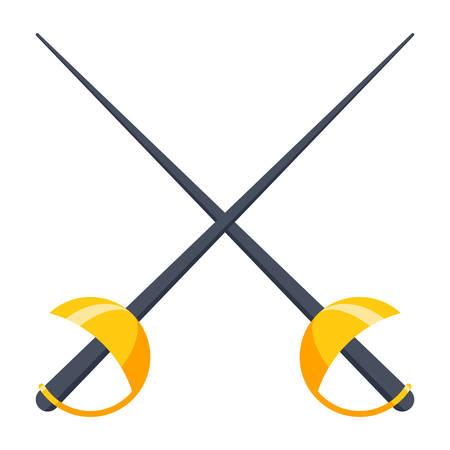 Fencing Vector Icon Imagens - 74369574