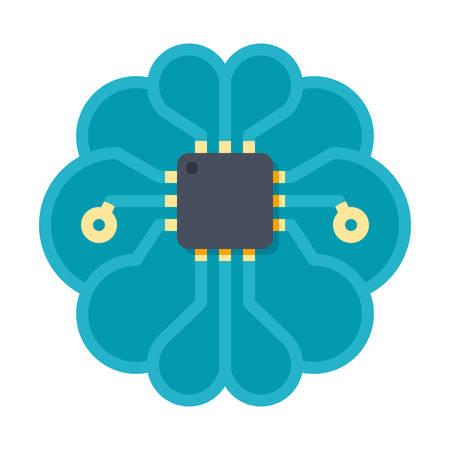 Artificial Intelligence Vector Icon