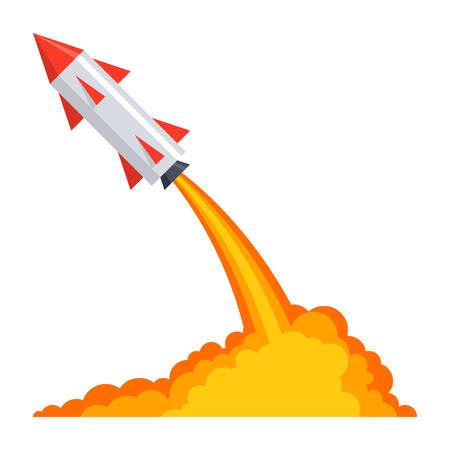 Ballistics with Rocket Launch Illustration