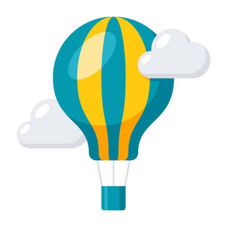 항공 풍선 아이콘