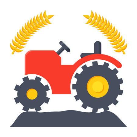 agriculture industry: Agriculture Vector Icon