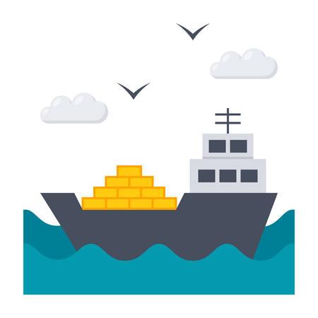 shipbuilding: Ship at Sea