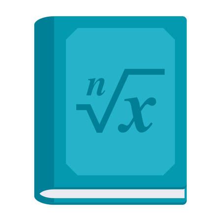 Math Book Icon Иллюстрация