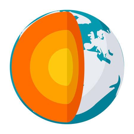 low energy: Geophysics Vector Icon