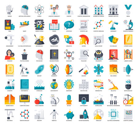 Science Icons Set