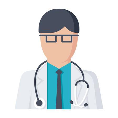 Doctor Vector Icon Illustration