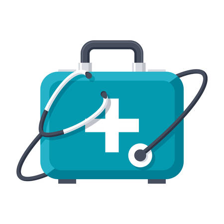 Medical Services Icon Illustration