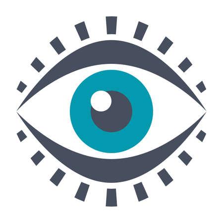 Eye Vector Icon Stock Photo