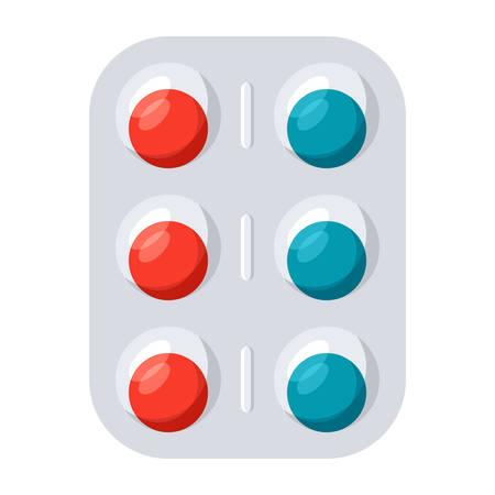 Pharmaceutical Medication Icon Illustration