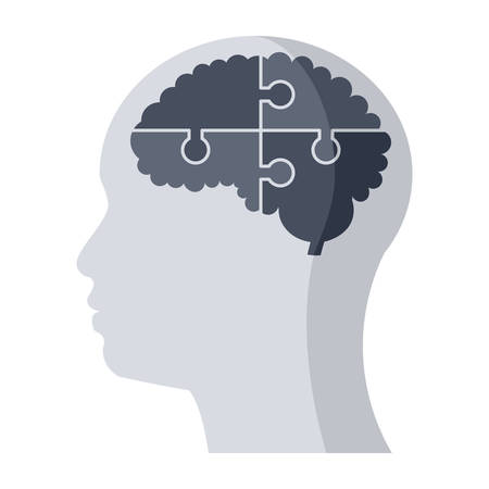 Psychiatry Medical Icon Illustration