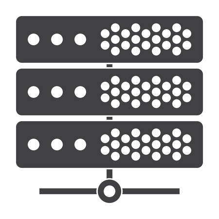 Big Data or Server Icon