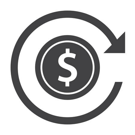 reverse: Chargeback and Refund Icon Illustration