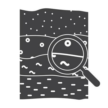 Icona di scienza del suolo