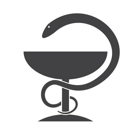 Icono de vector de la farmacia