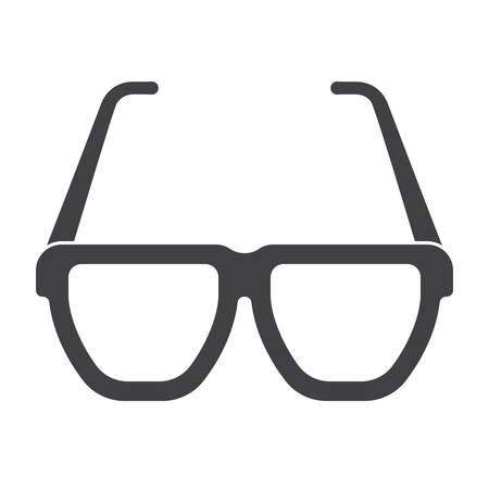 retina: Glasses Vector Icon