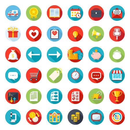 Icon Mix, no single style, a large set