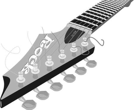 telecaster: Solo guitar fretboard