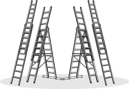 aluminum: Aluminum ladders