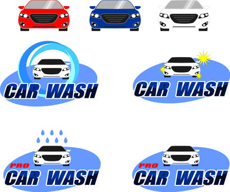 Proposals logos for car washes.