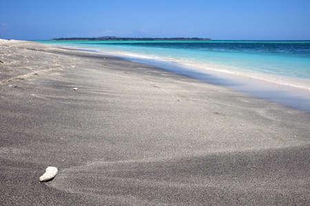 Tropical beach in Asia ( Gili Air ) Stock Photo