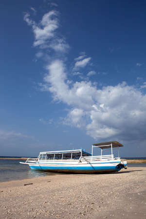boat on a tropical beach Stock Photo - 5679255