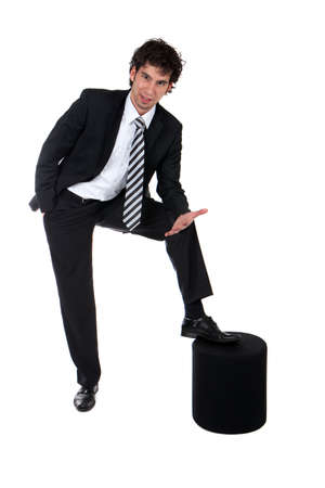 young successful business man Stock Photo - 6403392