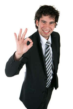 positive young business person Stock Photo - 6403399