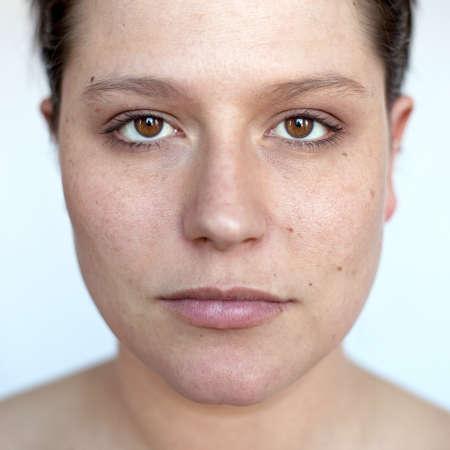 Portrait frontal Stock Photo