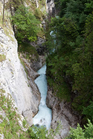 Leutaschklamm in Austria photo