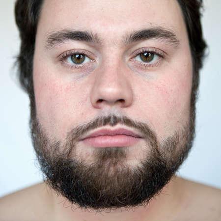 Natural portrait of a man