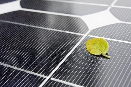 photons: it is solar panel Stock Photo