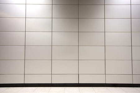 steel wall as background in a modern building Stock Photo - 6916626