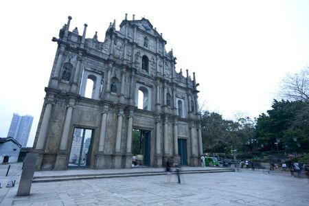 Cathedral of Saint Paul in Macao (Sao Paulo Church)  photo