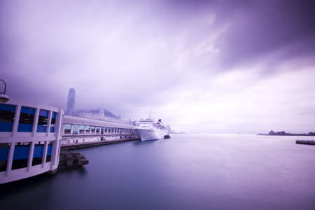 it is a cruise Ship in the ship park photo