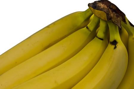 Banana bunch isolated on whiye  Stock Photo - 7454463